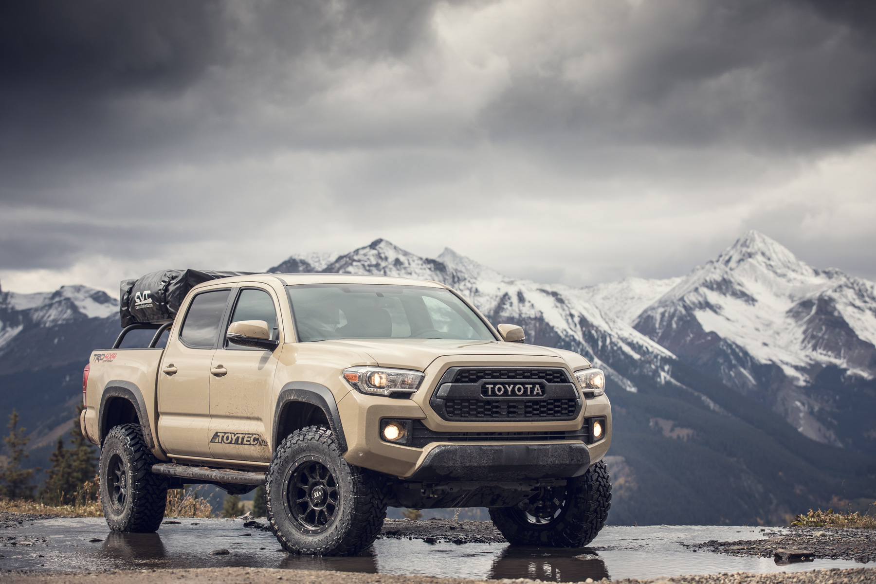 Automotive Photography - 2017 Toyota Tacoma Off Road